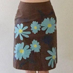 🆕 BODEN Floral Embroidered Skirt